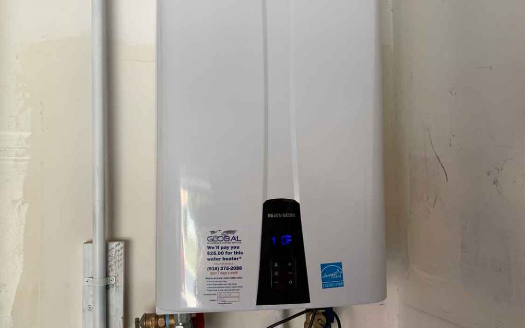 Tankless Water Heater Installation – Rancho Cordova, CA